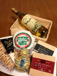 CAFFE ROSETTA② ワイン&チーズ