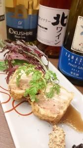 かま田別邸蝦夷風花 料理